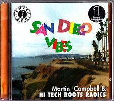 Martin Campbell & Hi Tech Roots Radics- San Diego Vibes CD (2002 NEW) Dub Reggae
