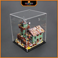 Display solutions for LEGO Ideas: Fishing Store (21310)