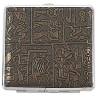 1X(Egyptian style Ultra-thin cigarette case H8P5)