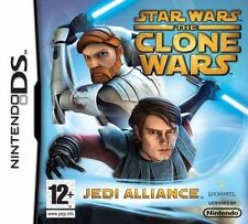 Star Wars The Clone Wars: Jedi Alliance Nintendo DS 3DS DSi Brand New & Sealed