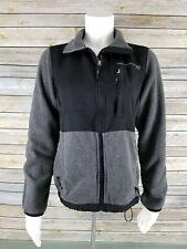 FREE COUNTRY Men Black Gray Fleece Outerwear Zip Up Ski Jacket Winter Coat Small