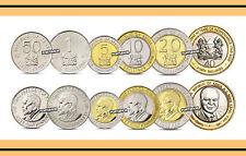 Kenya set of 6 coins 2010 (0.5+1+5+10+20+40 shillings) UNC