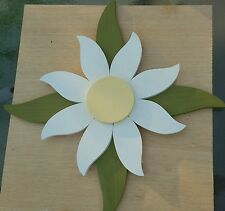 """24"""" wood wooden Daisy Flower Leaves Hanging porch-Garden-yard-U pick colors"""
