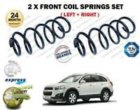 FOR CHEVROLET CAPTIVA 2.2D 4WD 2011-> NEW 2 X FRONT COIL SPRINGS SET