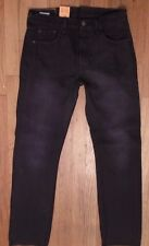 NWT LEVI'S 501 JEANS, Black, Classic Straight, Size 30 x 32 (L-13)