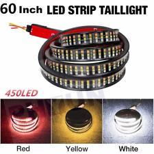 "60"" Triple Row Tailgate Light Bar Flowing Turn Signal Brake/DRL 450 LED 3 Colors"