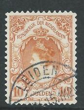 1899-1905 Nederland Koningin Wilhelmina NR.80 gestempeld Luxe Zegel..