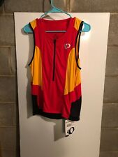 Pearl Izumi Select Tri Relaxed Sl Jersey M Red Yellow Black