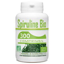 SPIRULINE BIO 300 comprimes dosés à 500 mg l'unité