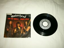 MOTÖRHEAD --- ultra rare original 1982 GO TO HELL 7''!!!!