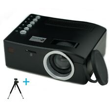 Mini Home Cinema Led HDMI Projector For PC Laptop Iphone Android Smartphone New