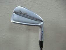 PING iBLADE IRON SET 5 - PW TOUR ISSUE DYN GOLD X100 PURPLE DOT 1.5* FLAT +1/2