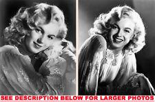 MARILYN MONROE 1947 BABY DOLL PROMOS 2xRARE8x10 PHOTOS
