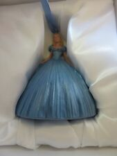 Disney Store Cinderella Figural Holiday Ornament Handpainted Live Action Film