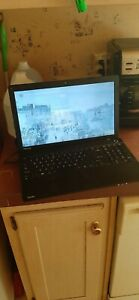 "Toshiba Satellite C55-A5300 15.6"" Celeron 1037U 4 GB Ram 500 GB HDD Laptop"