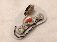Fender Stratocaster Wiring Harness CTS Pots Sprague Orange Drop Capacitor USA
