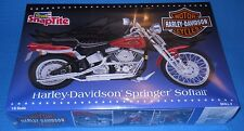 Revell Harley-Davidson Springer Soft Tail  SNAP Tite #7303 1/8 Scale Kit-1995