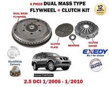 pour Nissan Pathfinder 2.5Dt DCI 2005-2010 VOLANT MOTEUR BIMASSE + embrayage KIT