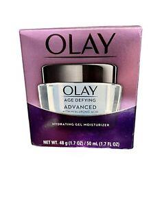 Olay Age-Defying Advanced Gel Moisturizer 1.7 fl oz Oz Hyaluronic Acid
