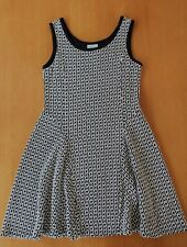BEAUTIFUL GIRLS BLACK & WHITE HOUNDSTOOTH TILLI (MYER) EVENING PARTY DRESS SZ 8