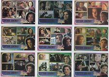 STAR TREK 2001 RITTENHOUSE ARCHIVES WOMEN OF VOYAGER BASE CARD SET (1-70)