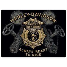 """""""Gauges"""" Harley-Davidson Tin Sign Embossed Garage 221"""