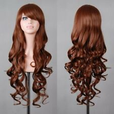 Women's Long Hair Full Wig Curly Straight Wigs Party Costume Anime Cosplay UR