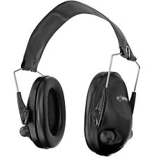 Industry Electronic Ear Muff Safety Hearing Noise Protection Gun Shooting Black