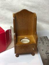"1:12 Town Square Miniature Dollhouse Furniture 3.5"" Tall Camber Pot Bathroom #S"