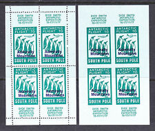 CINDERELLA: ANTARCTIC, ADMIRALTY MOUNTAINS OV/PR PAIR M/Ss PERF AND IMPERF,77...