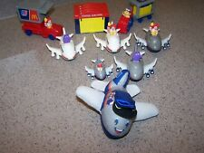 10 Vintage  McDonalds Happy Meal UNITED AIRLINE TOYS 1990's