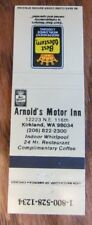 KIRKLAND, WASHINGTON: ARNOLD'S MOTOR INN (BEST WESTERN) -H