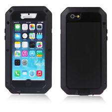 Cover Case For iPhone 4 5 6 7 PLUS Waterproof Metal Aluminum Gorilla Glass
