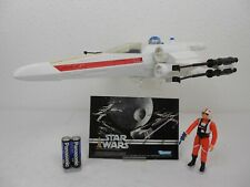 """Vintage Star Wars ANH 1978  X-Wing Fighter ^ Very Nice """"Complete/Working"""" Kenner"""