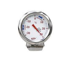 Käfer Kühl-/Gefrierschrank Thermometer Kühlschrankthermometer Edelstahl -30°+30°