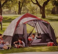 NEW Embark 6 Person Speed-Up Tent with SCREEN PORCH Camping 3 Minute Setup NIB