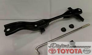 OEM TOYOTA LAND CRUISER BATTERY HOLD DOWN CLAMP KIT 74404-60150 FITS 2008-2016