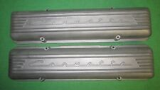 NOS IN BOX 56-59 Corvette 7 Fin Aluminum Valve Covers Fuel Injection GM 3726086