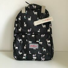 Cath Kidston women's backpack Llama dark blue multipocket animals