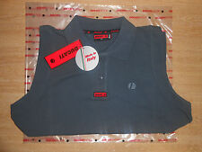 BRAND NEW GENUINE DUCATI ASICS WOMENS XL EBONY SLEEVELESS POLO SHIRT 98601120146