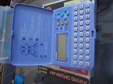 CASIO my magic diary jD-3000 nuevo sin usar. diario digital vintage.