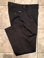 EDDIE BAUER * Mens Gray Casual Pants * Size 34 x 30 * EXCELLENT