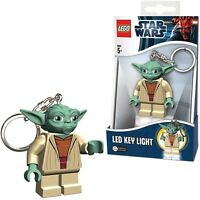 "LEGO STAR WARS YODA KEY-CHAIN LED TORCH BRAND NEW GREAT GIFT 2.5"""
