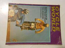 FEBRUARY 1969 CYCLE WORLD MAGAZINE,BULTACO MATADOR,SHERPA,SUZUKI 350,TS-125,AMA