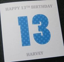 Personalised Birthday Card Teenager Son Grandson Nephew Godson ANY AGE (G24)
