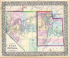 185 old maps Nevada state Panoramic genealogy lots History teaching atlas Dvd