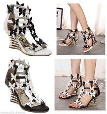 Zip Platforms & Wedges Medium (B, M) Casual Shoes for Women
