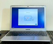 Samsung Chromebook 550C SSD Webcam Silver Notebook Computer GRADE B
