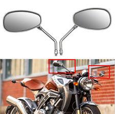 Motorcycle Chrome Rear View Mirrors 10mm For HONDA VTX 1300 1800 VTX1300 VTX1800