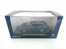 PEUGEOT 308 GT SW SPORT 2014 BLEU MAGNETIC NOREV 473838 1/43 BLUE BLAU BREAK